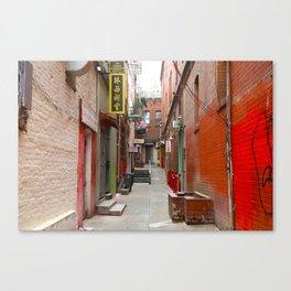 San Francisco's Chinatown Canvas Print