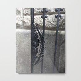Door Photography Metal Print