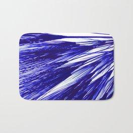 Cobalt Wheat Burst Bath Mat
