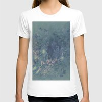 vintage floral T-shirts featuring Vintage floral by nicky2342