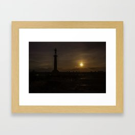 Victor at the end of the day Framed Art Print