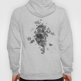 The Diver (Black and White Version) Hoody
