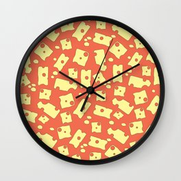 Cheese that is all Wall Clock