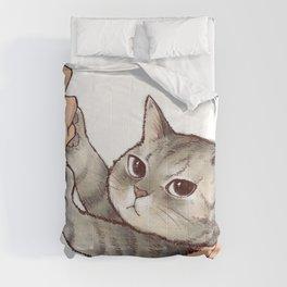 cat : hmmmmm! Comforters