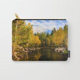 Autumn, Hidden Lake Carry-All Pouch
