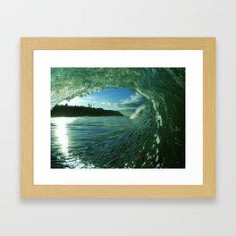 The White Wale Framed Art Print