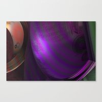 wallpaper Canvas Prints featuring Wallpaper by Fine2art