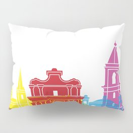 Valletta skyline pop Pillow Sham