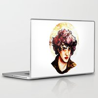 grantaire Laptop & iPad Skins featuring Grantaire watercolour by chazstity