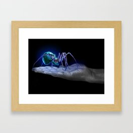 Skullantula Framed Art Print