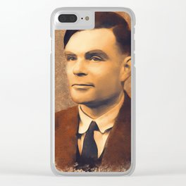 Alan Turing, Scientist Clear iPhone Case