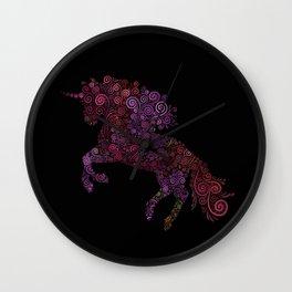 Unicornis Filix Wall Clock