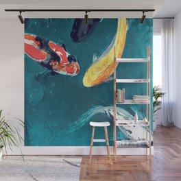 Water Ballet Wall Mural