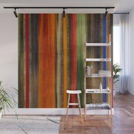 Boho Stripes Wall Mural