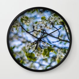 Focus on a New Beginning Wall Clock
