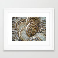 cookies Framed Art Prints featuring Cookies by Vitta