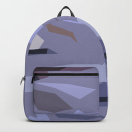 Fragmented Violet Backpack