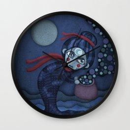 A Night Mama Wall Clock