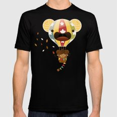 Chestnut Girl Balloon!!! Mens Fitted Tee MEDIUM Black