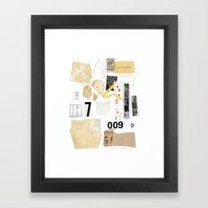 Paper Trail II Framed Art Print
