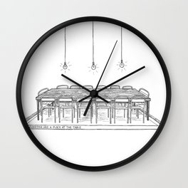 The Table Wall Clock