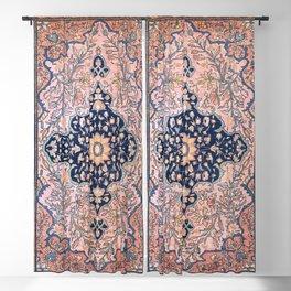 Sarouk  Antique West Persian Rug Print Blackout Curtain