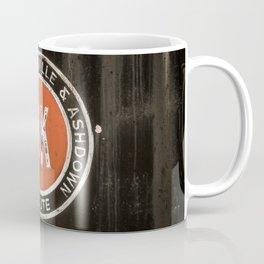 Graysonia Nashville & Ashdown Railroad OK Route Okay Arkansas Cement Railway Steam Train Emblem Coffee Mug
