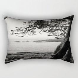 Rocky Coast Rectangular Pillow