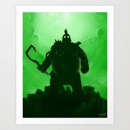 """Radioactive"" Roadhog Art Print"