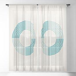 Coil Sheer Curtain