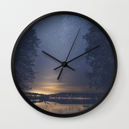 Society Wall Clock