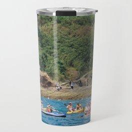 People kayaking Travel Mug