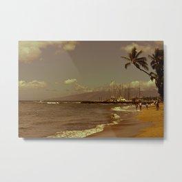 Vintage Maui Metal Print