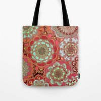 baroque Tote Bags featuring Baroque Obsession by micklyn