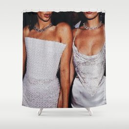 Vintage Fashion Shower Curtain