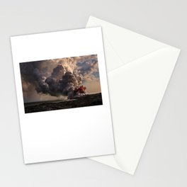Kilauea Volcano at Kalapana 5 Stationery Cards