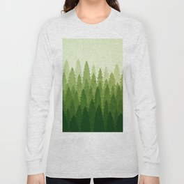 C1.3 Pine Gradient Long Sleeve T-shirt