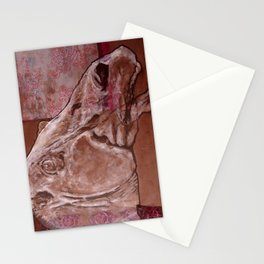 The ancient horse Stationery Cards