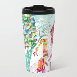 Snowgirl Travel Mug