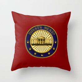 What's Next? Throw Pillow