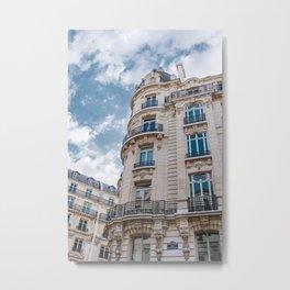Paris Architecture VII Metal Print
