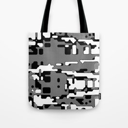 jitter, b&w 8 Tote Bag