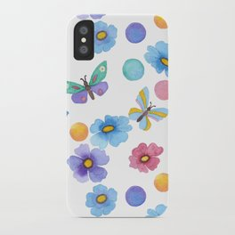 Spring . Butterfly . iPhone Case