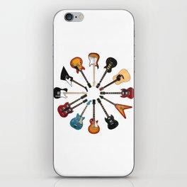 Guitar Circle iPhone Skin