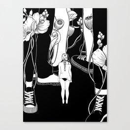 Feel so small Canvas Print