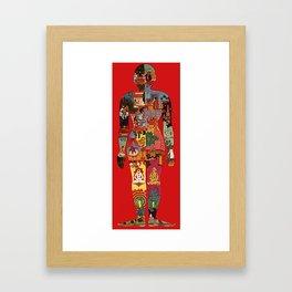 Cosmic Man Framed Art Print