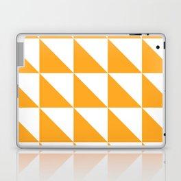 Geometric Pattern 01 Yellow Laptop & iPad Skin