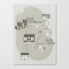 City Travels Canvas Print