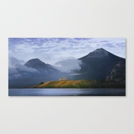 Sunrise over Waterton Lakes National Park and The Prince of Wales Hotel .3 Canvas Print