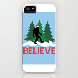 Cryptid Christmas Miracle iPhone Case